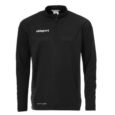 Score 1/4 Zip Top Black / White
